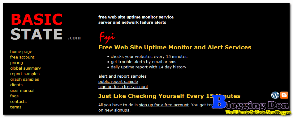 BasicState monitoring services