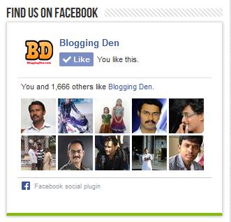 Blogging den Page