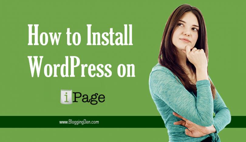 How to install wordpress on iPage hosting