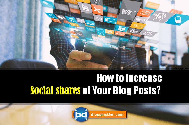 increase Social shares