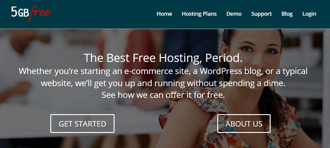 5GBFree web hosting