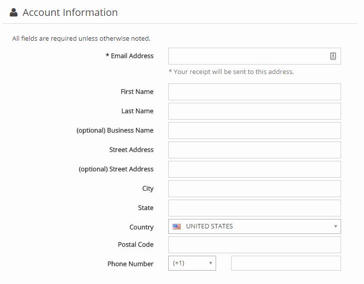Greengeeks account information