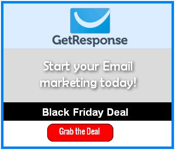 Getresponse black friday deal