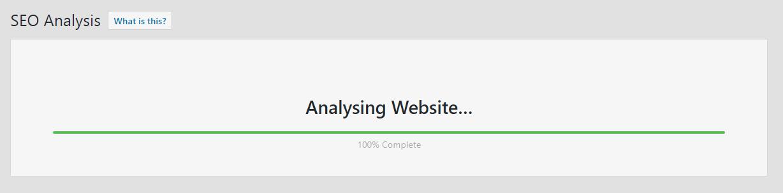 analyzing site