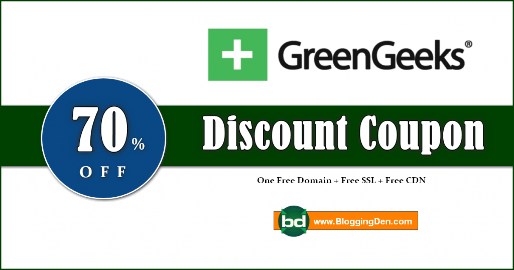 greengeeks disocunt coupon code 2020