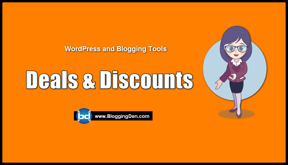 Blogging and WordPress Deals and Coupons (for WordPress Users)